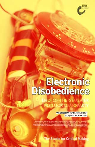 Electronic Disobedience